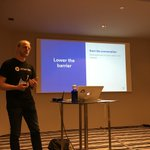 Awesome! Our colleague Maarten talking about Atlas CRM at #atlascamp. More info at https://t.co/zL6bBdteH8 https://t.co/A1RJWpD1MF