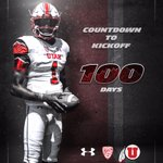 100 days.  RT if you wish it was tomorrow! #GoUtes https://t.co/gTE8cnOTTc