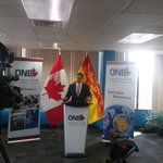 @BrianGallantNB announcing 20 new jobs in Saint John at one of our growing IT firms Revjet @ONBCanada @EnterpriseSJ https://t.co/ibzzSufAYm
