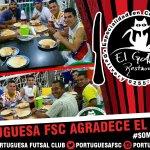 ¡#BuenDia! El #PortuguesaFSC le agradece a El Gato Restaurant por el apoyo a nuestros rojinegros👏⚽ #SomosEjemplo https://t.co/kmFwJUErnB