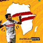 Were back bigger and better than ever! 💪🏻😉⚪ #AfricaIsWhite #CAFCL https://t.co/dHB7HGr3xd