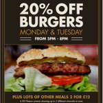 20% off all burgers on the menu @TrentNavigation tonight 5pm-8pm https://t.co/GrLuzHV9mI #westbridgford #nottingham https://t.co/bZVsfHWLLJ
