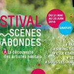 La bonne humeur des artistes d'art de rue se partage au Swing des Jardins samedi https://t.co/lPxERqZ2fl #Nantes https://t.co/kSIb1n3QGc
