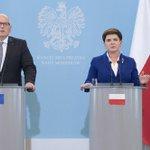 FOTO: wystąpienie premier @BeataSzydlo i wiceprzewodniczącego KE @TimmermansEU https://t.co/QK8Qq0Nr9h