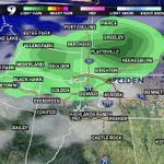 Storms most-likely between 2:30 and 5:30 pm along the Front Range. #9WX #9newsmornings #9news #cowx https://t.co/MGxINO1Ip9