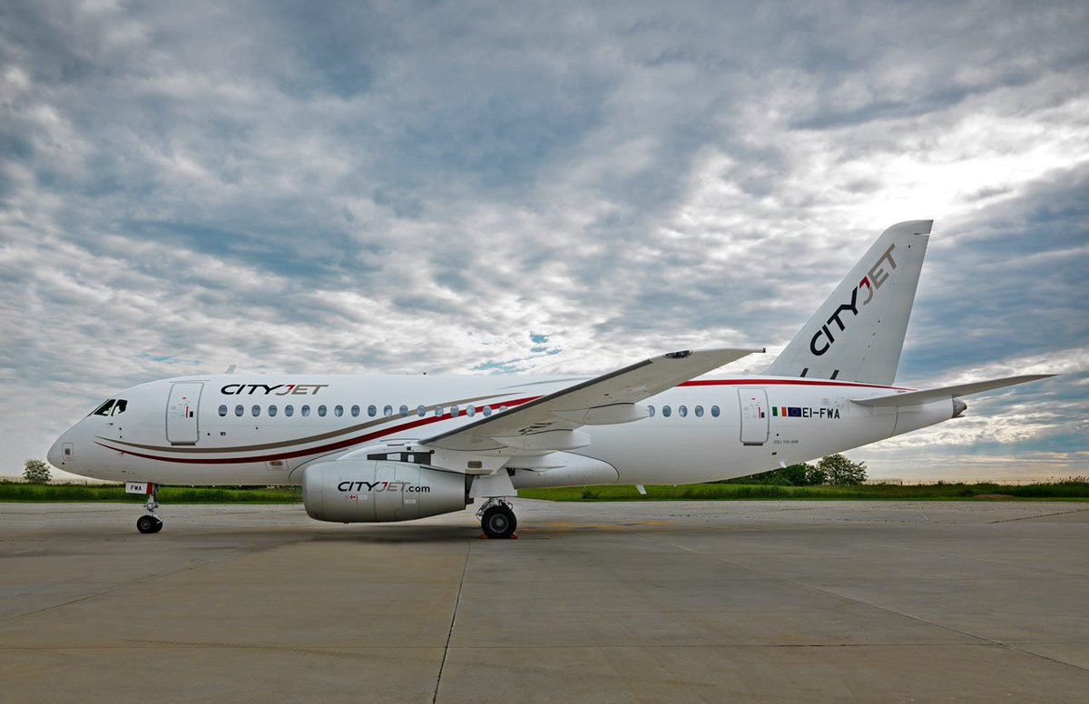 First Sukhoi Superjet 100 delivered to CityJet!!!! https://t.co/zc8MDGauRj #superjet #SSJ100 @cityjet #delivery https://t.co/UCZl1dC652