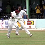 ICC: #OnThisDay 2000 - Adams and Walsh hold on, as West Indies win a thriller by a single wicket against Pakistan https://t.co/I8DLq4yaUV