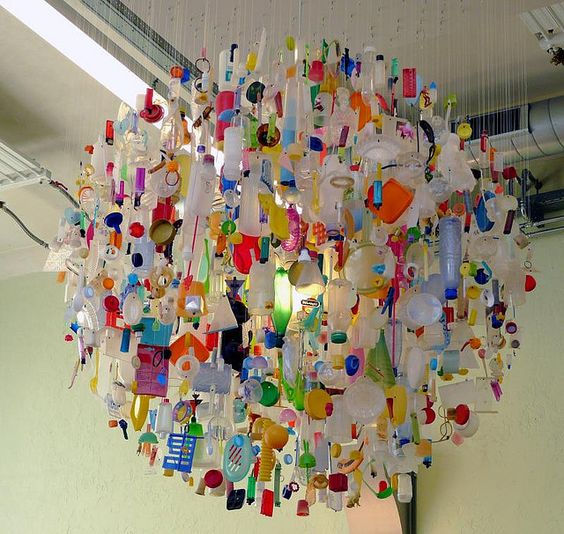 What A Nice Tide Chandelier Made Out Of Things Found On The Beach Ocean