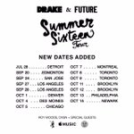 New Dates Added Canada Pre-Sales Start Today  With American Express #SummerSixteenTour https://t.co/TkCpnFGB9y
