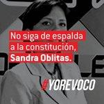 No crea la Sra Oblitas que está por encima de la Constitución,tendrá que respetar el derecho del Pueblo! https://t.co/SJ6K0b25GT