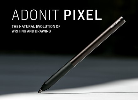Introducing Adonit Pixel: The best stylus we've ever made. https://t.co/XgV8hoB52n https://t.co/iqzKu0HF4f