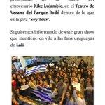"""""""Lali visitará Montevideo el próximo martes 6 de Diciembre"""" - @urushow https://t.co/Ns4Weekn9E"""