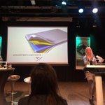 Linda Braakman geeft uitleg over gebruik van composiet in de bouw @Saxion #buildingthefuture https://t.co/vlgg6abT1q