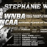 Head-turning stats on our new coach @StephanieWhite  https://t.co/qXO5jByauT https://t.co/IRwexFU1n3