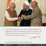 India, Iran and Afghanistan: deepening connectivity.  https://t.co/8smEezyFds  via NMApp https://t.co/BgnsRzQROX