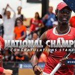 NATIONAL CHAMPIONS!  Stanford defeats Oklahoma State, 4-3, to capture 18th (!!) womens #NCAATennis title. https://t.co/f9tRfHsk55