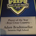 Sarasota @SHS_XC Adam Bradtmueller @SuperFly_33 will receive a couple awards #HTPreps @htpreps https://t.co/S6dKqoMyc3