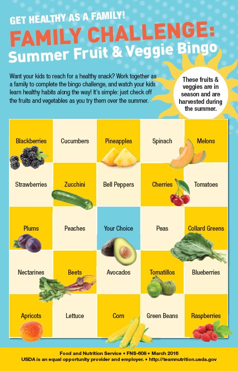 Vary your veggies. Offer dark-green, red, and orange vegetables, as well as beans and peas during the week. https://t.co/z6FNcO8Ql7