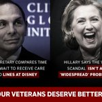 VA Secretary McDonald and Hillary Clinton share common ground in all the wrong ways. https://t.co/PLx9PWsViO