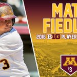 Congrats to our very own @MatthewFiedler on being named the @B1Gbaseball Player of the Year! #Gophers https://t.co/55rqQfoqTq