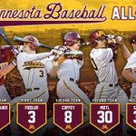 A huge congrats to our 7 players who were listed as All-Big Ten performers! Well done, #Gophers! 〽️⚾️ https://t.co/8YPahhppsN