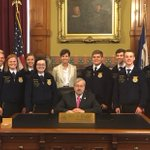 The @iowaffa is growing w/ record state convention attendance & 14 new chapters. Congrats to the new officers! #FFA https://t.co/TmES6l7UJR
