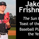 New Story: Frishmuth Named Toast of the Coast Baseball Player of the Year https://t.co/ld0bHntYAp https://t.co/J7Yk9k6p70