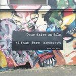 """""""Pour faire un film, il faut être amoureux""""... #nantes #streetart https://t.co/gXX5zVQcNO https://t.co/ykYnNBhzYV"""
