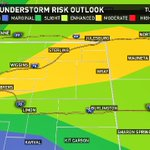 Severe threat is now HIGHER for Denver and the Front Range for this afternoon. #9WX #9newsmornings #9news #cowx https://t.co/KtdaVV5dOS
