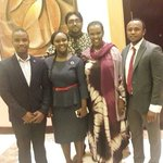 Part of Team 361 organiser #tanzania #Rwanda trade forum in #Kigali with minister EAC Hon. Valentine Rugwabiza. https://t.co/KJ2aC0n6FD