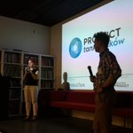 Kicking off #ProductTank meetup in #Krakow #omgkrk https://t.co/MiwoXGbEU2