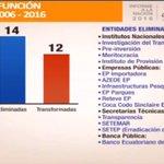 .@MashiRafael menciona las medidas de reducción de gastos tomadas y las que se adoptarán. #InformeALaNación https://t.co/6WXIl00fav