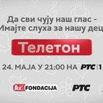 (UŽIVO) JEDAN POZIV ZA ZDRAVLJE DECE Večeras od 21 sat Teleton na RTS i Blic.rs  https://t.co/qae3Nw8RNY https://t.co/xxtWs1yJeC