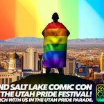 Gearing up for a fun weekend at #UtahPride! Join us for the parade on Sunday 6/5: https://t.co/1nRBdTz5VQ #utah https://t.co/2R1Yyowrx2