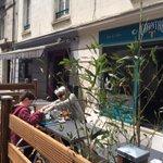 Terrasse check! Soleil check! Bocaux peps check! Thé Lagosta check ! Belle journée !#Nantes #tealovers #ChapitreT https://t.co/s2C4EvHEVI