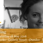 Start of @ScottishJW today, part of #dundeedesignfest! Plus, #meetyourmaker: @islayspalding https://t.co/Kbr59Ty9Jk https://t.co/UhKlXgRKhD