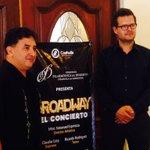 """Anuncia @fildecoahuila """"Broadway el concierto"""" miércoles 1 de junio 20:00 teatro de la ciudad #Saltillo https://t.co/wHi1wjeYh5"""