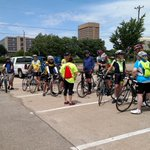 Look at all the cyclists here for bike with @Topeka_Police Chief! Awesome, #topeka! https://t.co/Wxs3NvwpjW