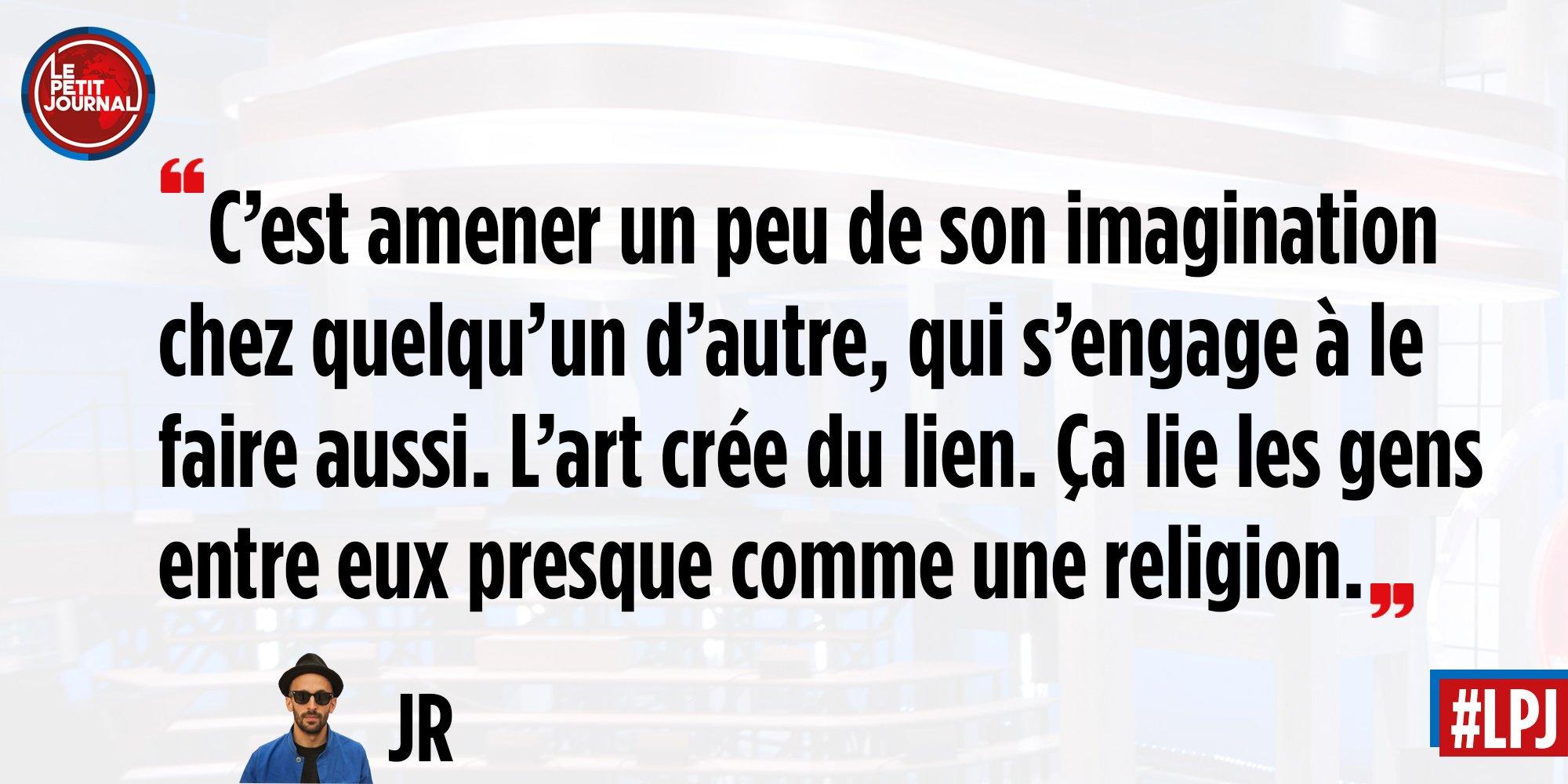 La définition de l'art par @JRart (et Agnès Varda !) #LPJ https://t.co/nixi7c5yg4
