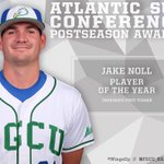 Our own @Jake_Noll becomes the programs 2nd #ASunBSB Player of the Year and joins Selesky on First Team! #WingsUp https://t.co/rRwO4alEtS
