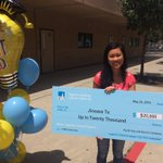 WOW! WOW! WOW! Jineava To received a 20,000 scholarship for 5 years from PG&E!! We are so proud!! 💜💛🙌🏼 https://t.co/Htk1MgqSR7