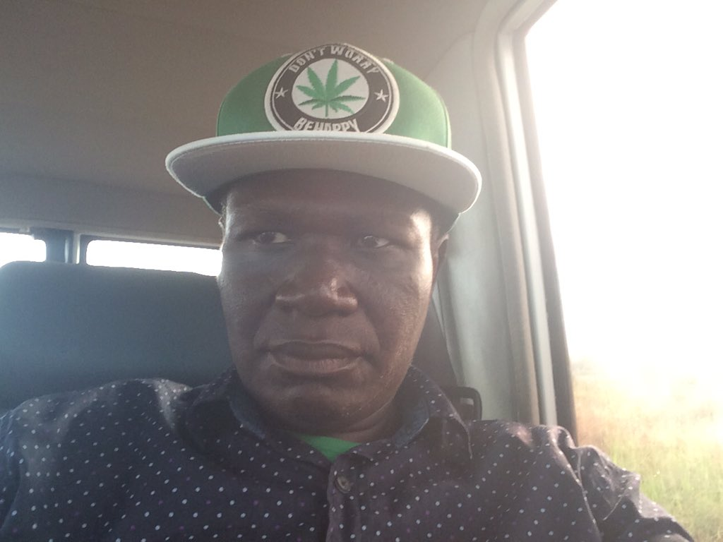 Trying out a selfie. @kizzabesigye1 gave me this cap in 2014. He didn't know the green leaf on it