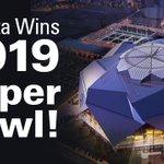 #BREAKING Atlanta gets Super Bowl 53 in 2019!! https://t.co/P2L5IU9oVW