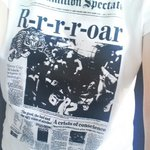 Sporting @gwgshops Hamilton Spectator tee today @comotiononking, the old @TheSpec building! ???? https://t.co/f8lBcbGyWk