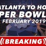 BREAKING: @MBStadium & Atlanta will will serve as the home to Super Bowl LIII. https://t.co/s13MJx1rTf
