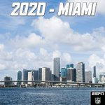 The 2020 Super Bowl has been awarded to Miami. https://t.co/72NoxtDuKp