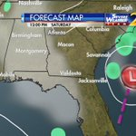 Watching for some possible tropical developement this weekend. Updating your holiday weekend forecast on @wsbtv Ch 2 https://t.co/560MoJl5zs
