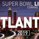 Atlanta will host the 2019 #SuperBowl -- LETS GO ATLANTA! #ATLSuperBowl https://t.co/f8Vtd4KfrA https://t.co/Hr19Pdsgh4