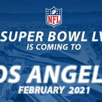 THIS JUST IN: @NFL selects Los Angeles to host Super Bowl LV in 2021 #SB55 https://t.co/bVQZNHLudG https://t.co/RwhVYQte2F