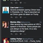 A tale of two protests, at Clinton and Trump rallies https://t.co/Y9M3QMHObb